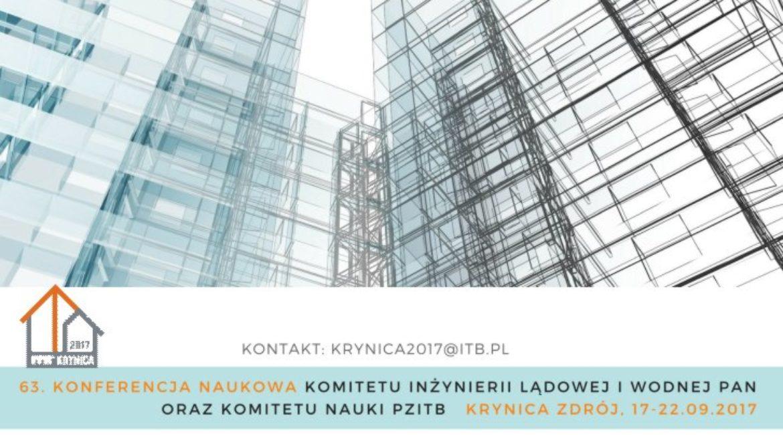 63. Konferencja Naukowa Krynica 2017