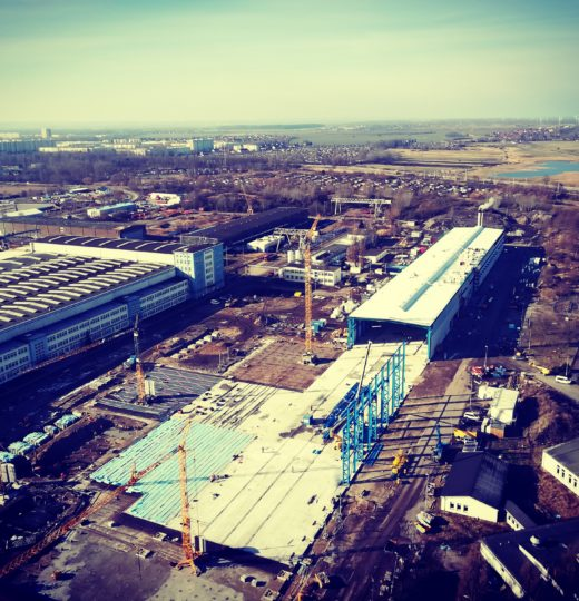 Production hall Rostock (Germany)