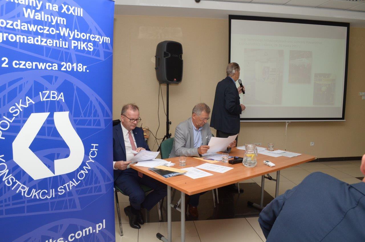 XXIII Zwyczajne Walne Zgromadzenie Polskiej Izby Konstrukcji Stalowych