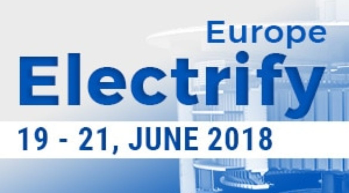 Electrify Europe – conference and exhibition for the new digitalised power sector