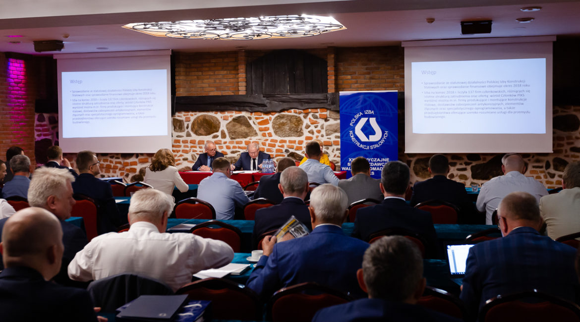 XXIV  General Meeting of the Polish Chamber of Steel Structures