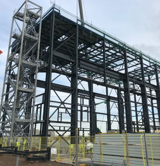 Gas Power Station  Keadby  (Great Britain)